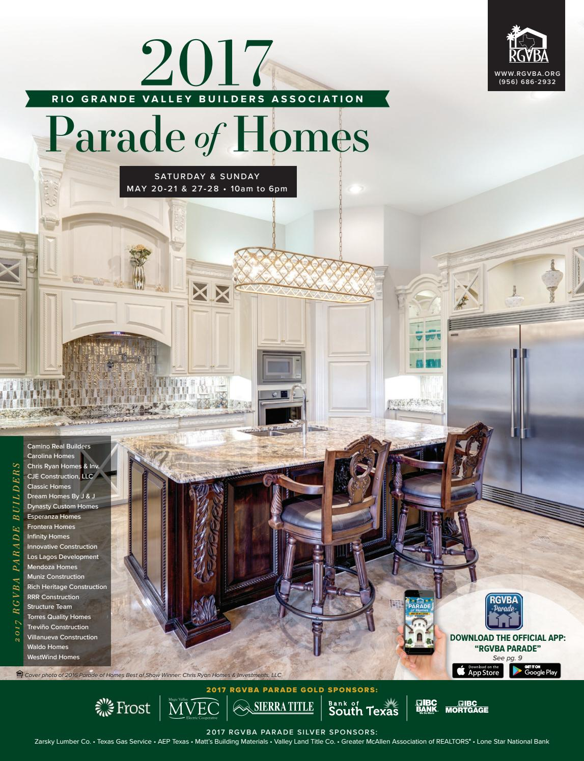 2017 RGVBA Parade of Homes Guidebook by New Homes South Texas - issuu