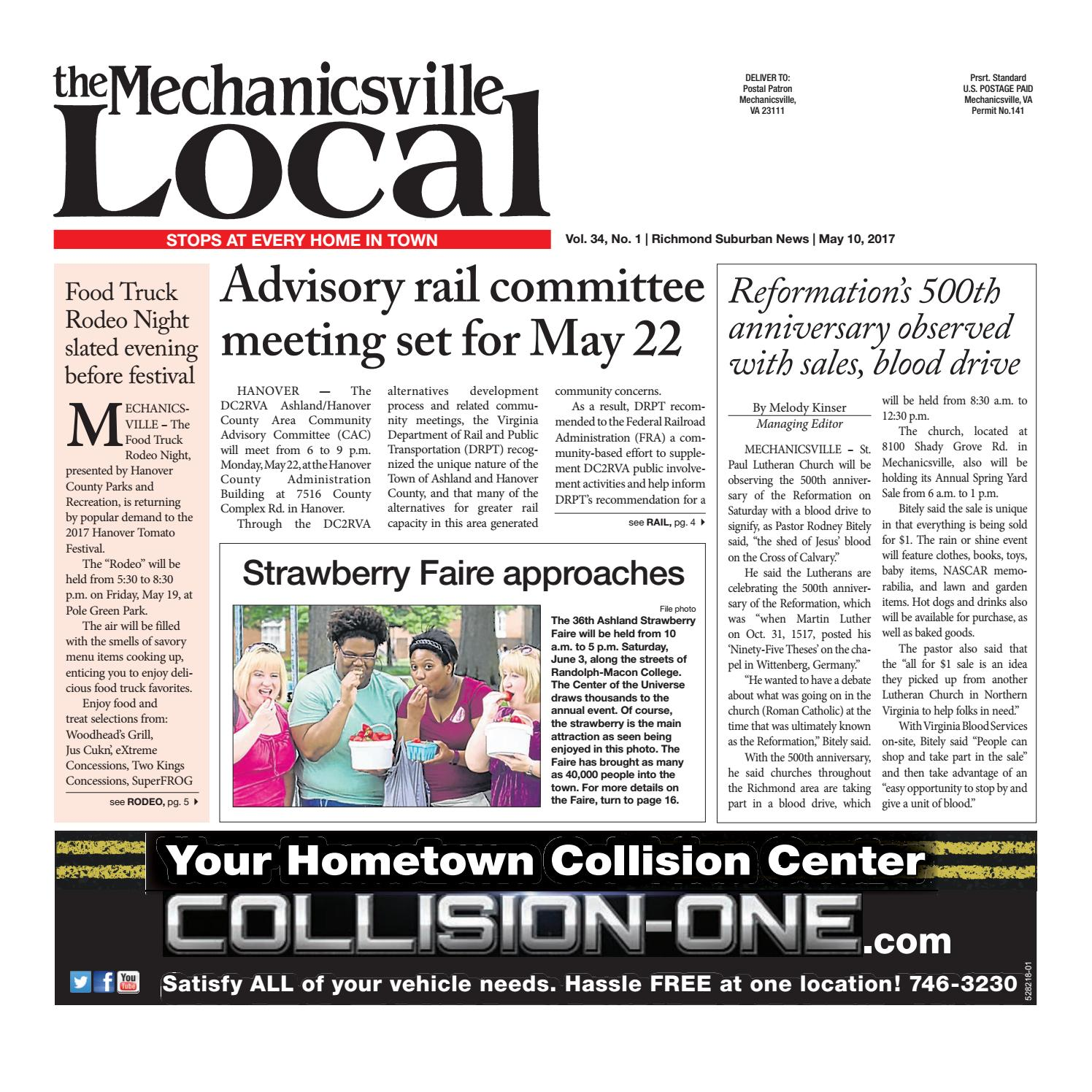 05/10/17 by The Mechanicsville Local - issuu