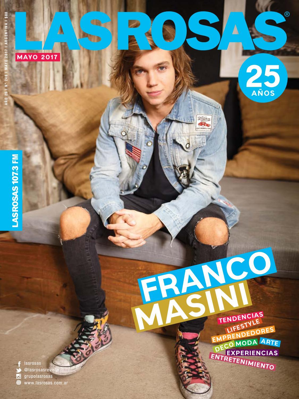 Franco Masini - Edición 246 by Revista Las Rosas - issuu 19cee2de047d