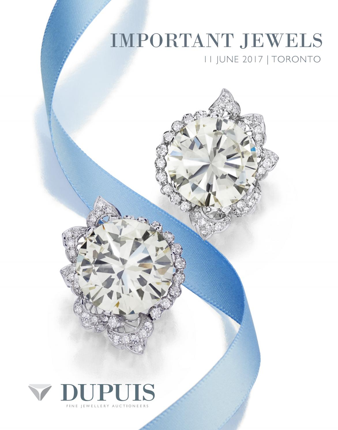 c4bbd61ab1b41 Dupuis Important Jewels Spring 2017 by Dupuis Auctioneers - issuu