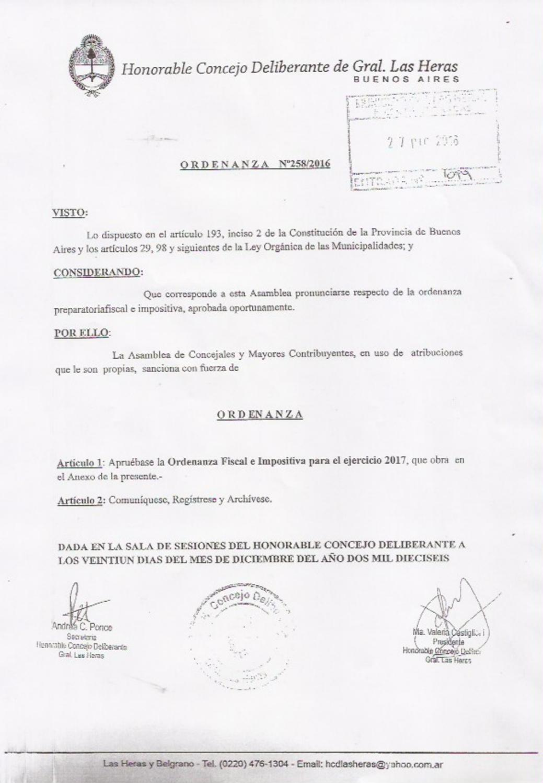 Ordenanza Fiscal e Impositiva 2017 by gobiernodelasheras - issuu