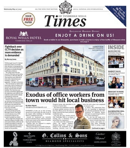 Times of tunbridge wells 10th may 2017 by one media issuu wednesday may 10 2017 fandeluxe Images