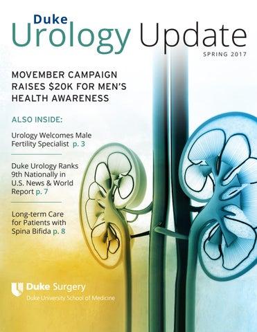 Duke Urology Newsletter - Spring '17 by Duke Surgery - issuu