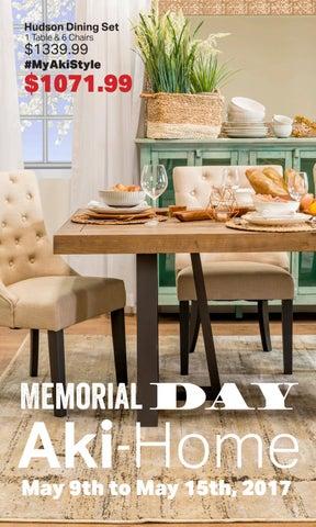 Aki Home 2017 Memorial Day Catalog By