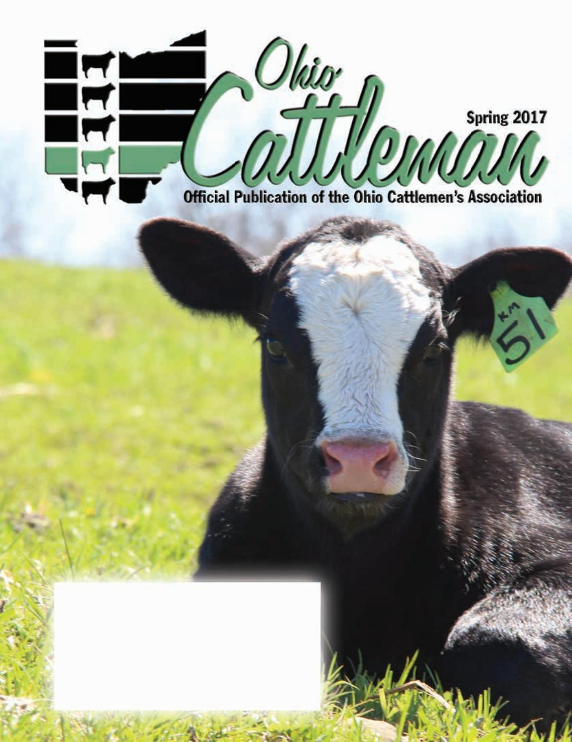 Ohio Cattleman Spring Issue 2017