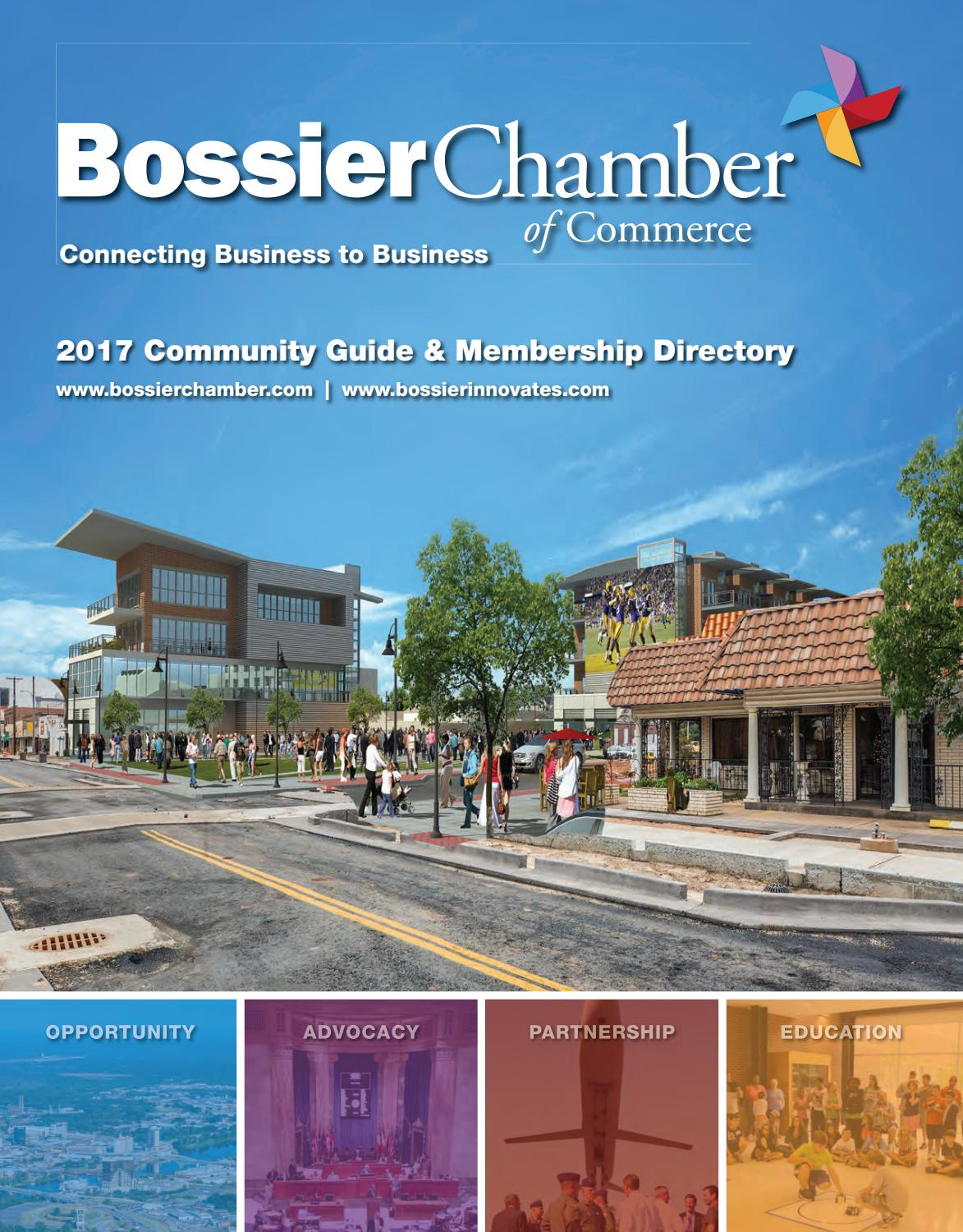 Bossier La Chamber Profile 2017 By Town Square Publications Llc Issuu Yong Ma Mc 3480 Rice Cooker Black Tinum