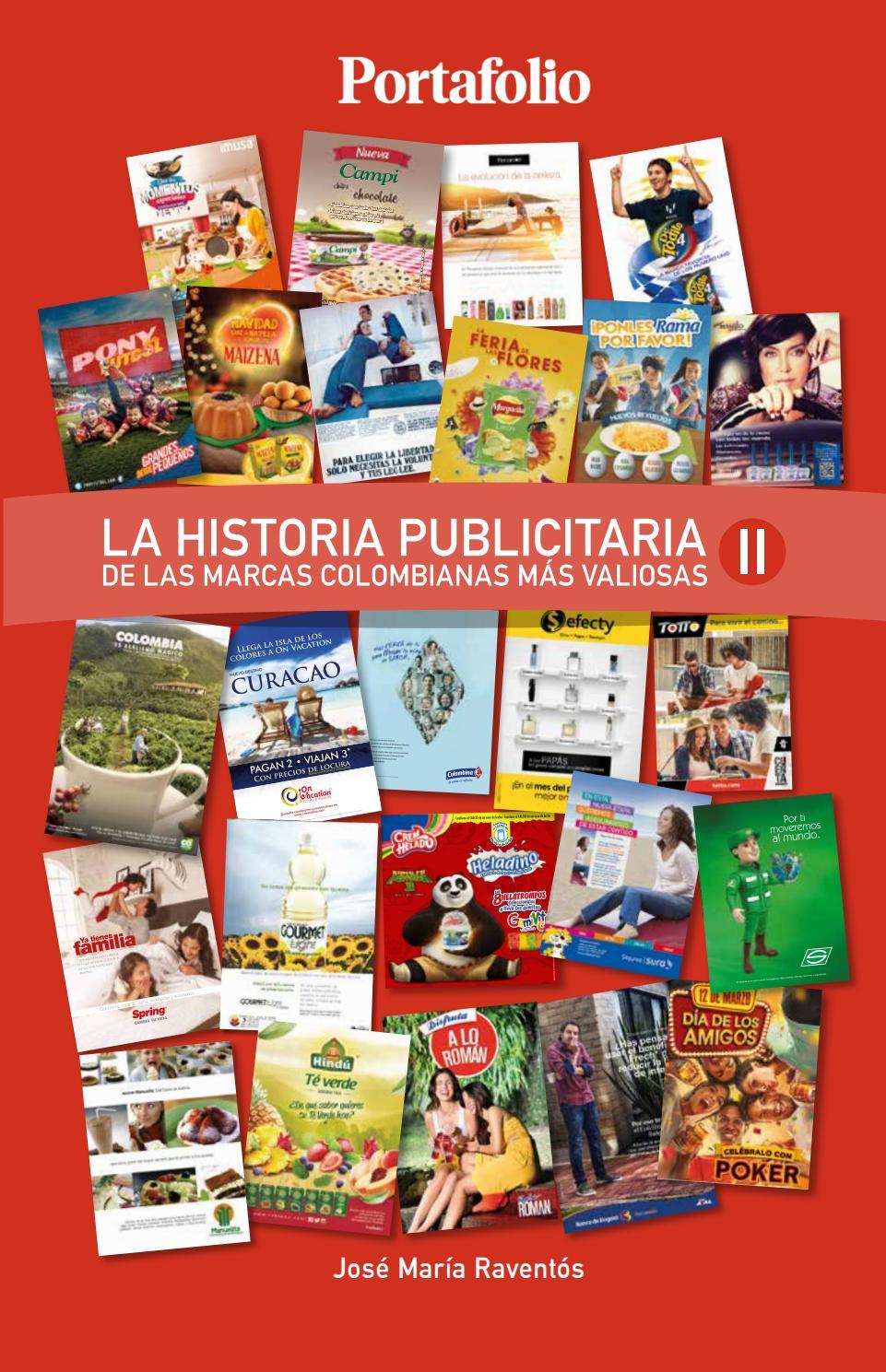 La Historia Publicitaria de las marcas colombianas más