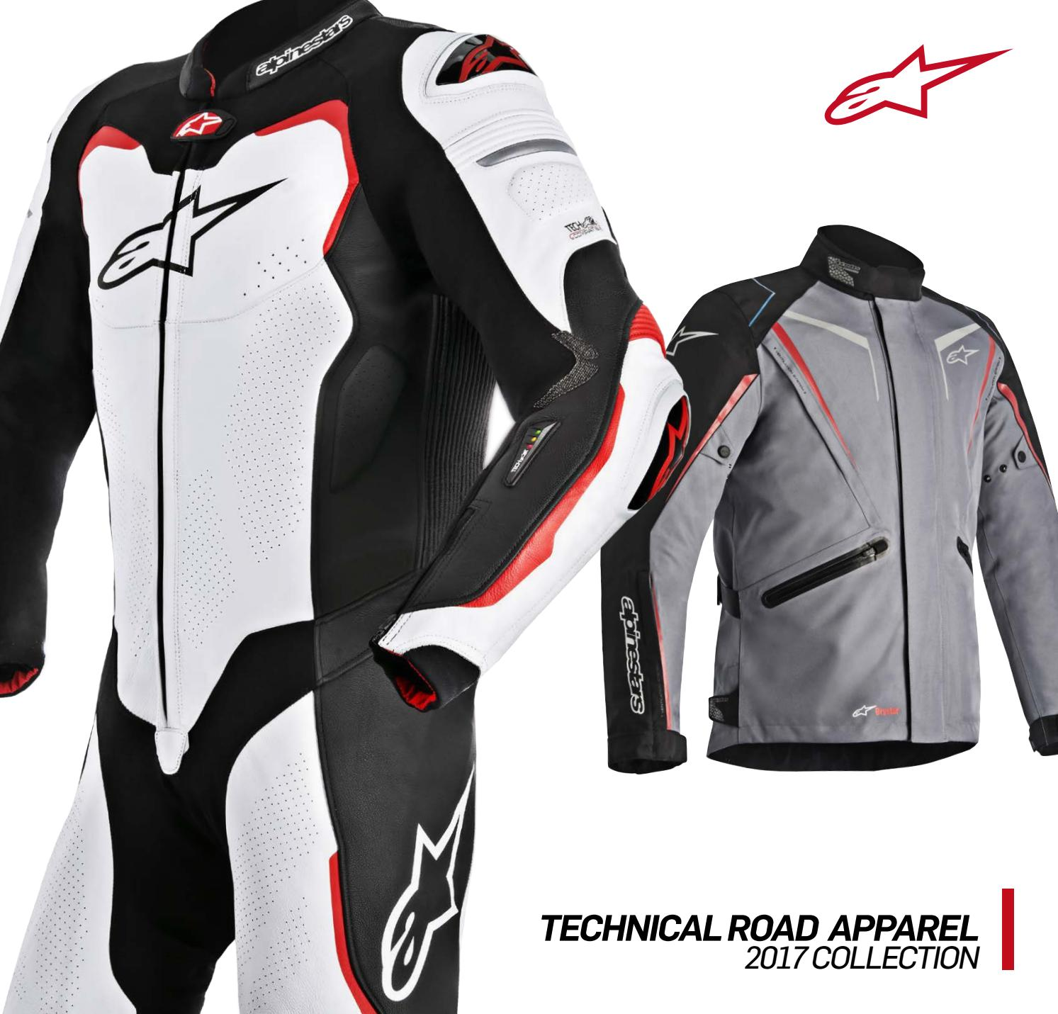 374c09b22 2017 Alpinestars Technical Road Apparel Catalogue by Monza Imports ...