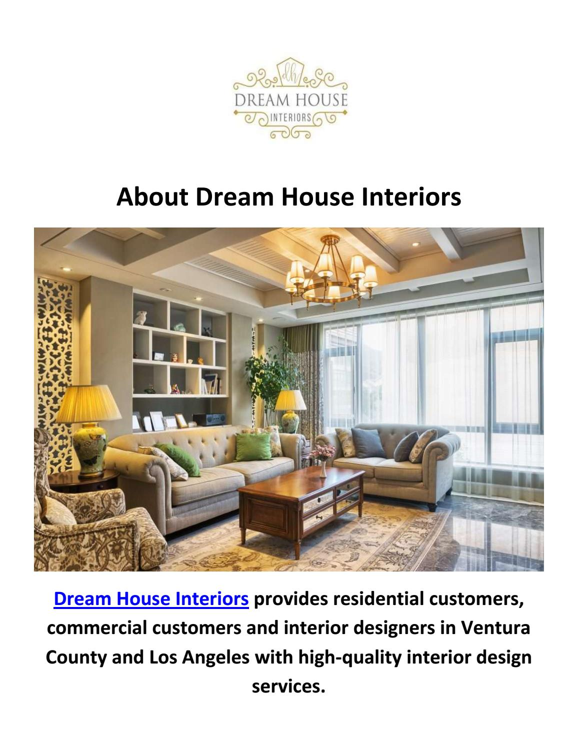 Dream House Interior Design In Thousand Oaks Ca By