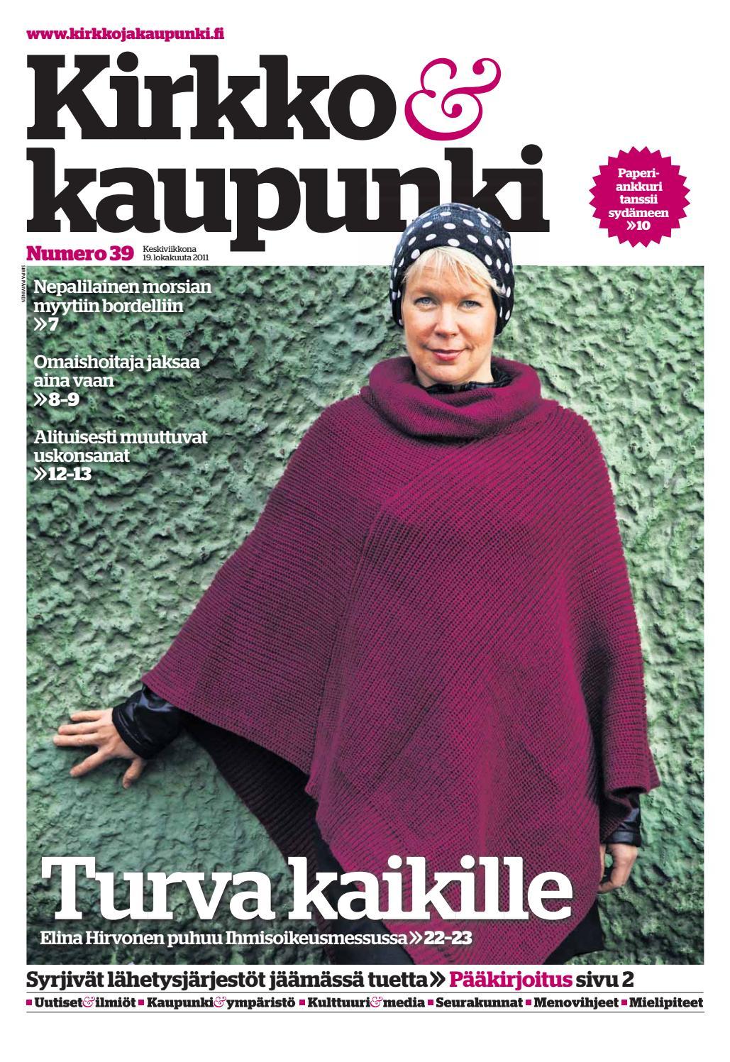 K k 2011 nro 39 (19 10) by Kirkko ja kaupunki - issuu 049c3753a6