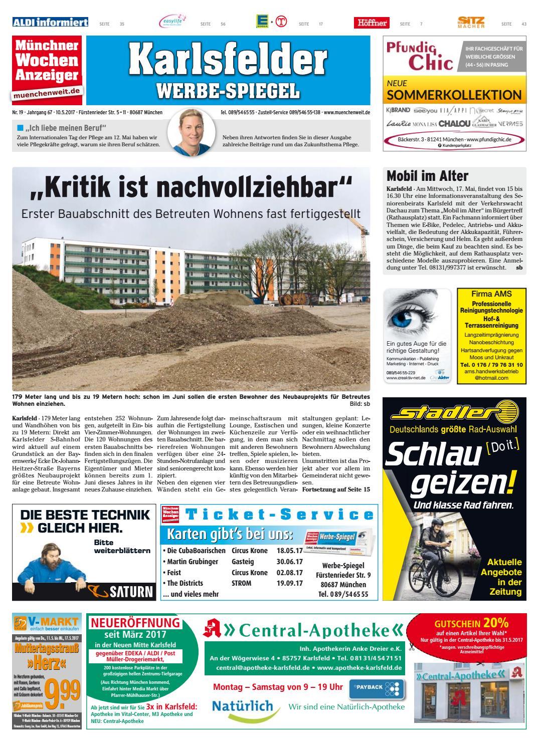 KW 19-2017 by Wochenanzeiger Medien GmbH - issuu