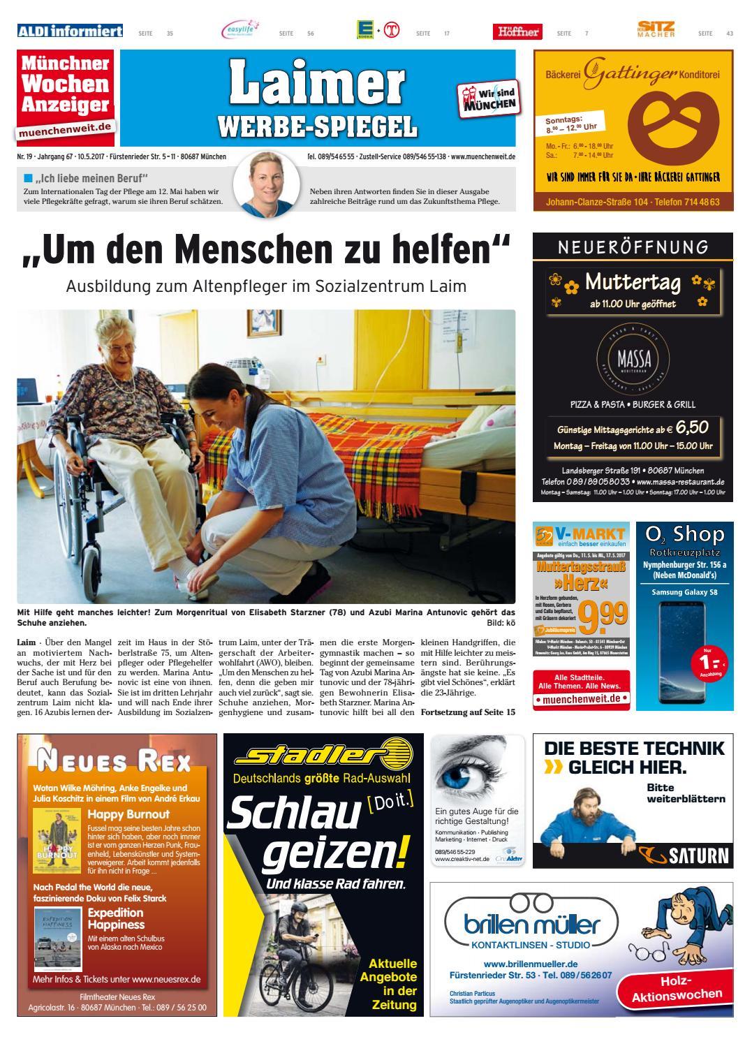 09a8af0f68a8a3 KW 19-2017 by Wochenanzeiger Medien GmbH - issuu