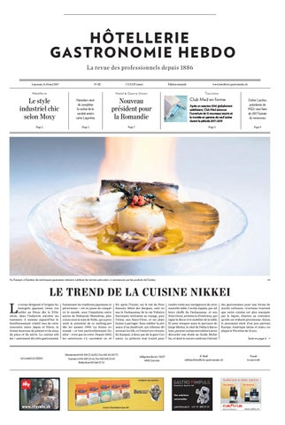 HG Hebdo 12 2017 By Hotellerie Gastronomie Verlag