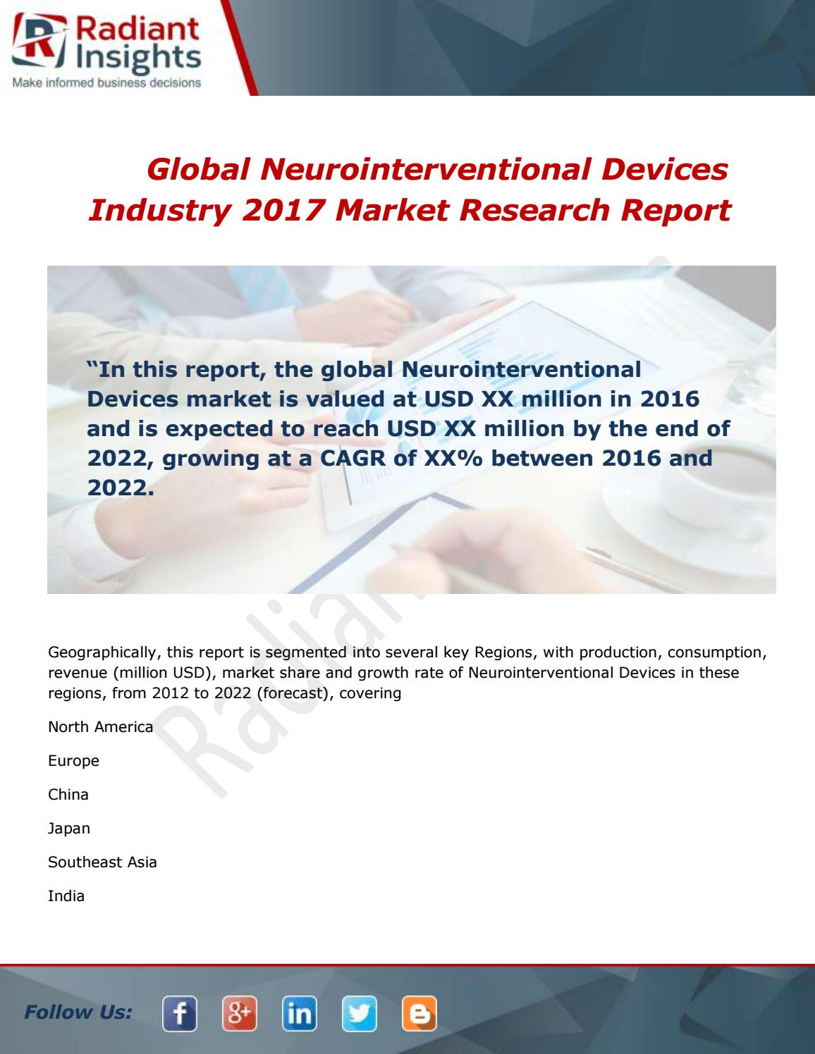 neurointerventional devices market worth 1 7 billion