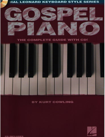 Hal Leonard Keyboard Style Series Gospel Piano by digital