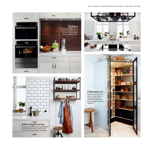 Sentens KÖK 2017 by Electrolux HOME - issuu