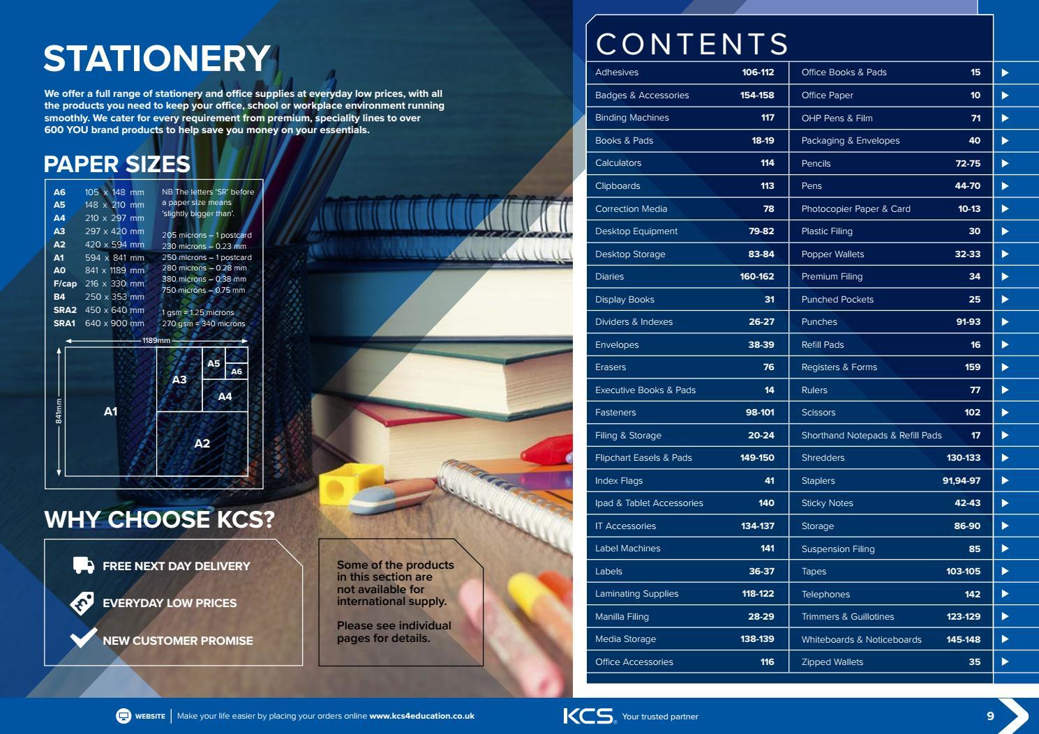 Kcs Catalogue Stationery 2017 18 By Uk Issuu Staedtler Triplus Color Fibre Tip Pen 323 34 Aqua Blue