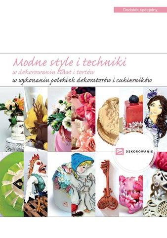 9abdd966ac75e8 Modne style i techniki w dekorowaniu ciast i tortów by Mistrz Branzy ...