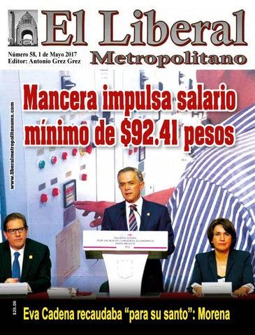 f9b8539ded11c El liberal metropolitano 1 mayo 2017 cambios by Lino Javier Calderon ...