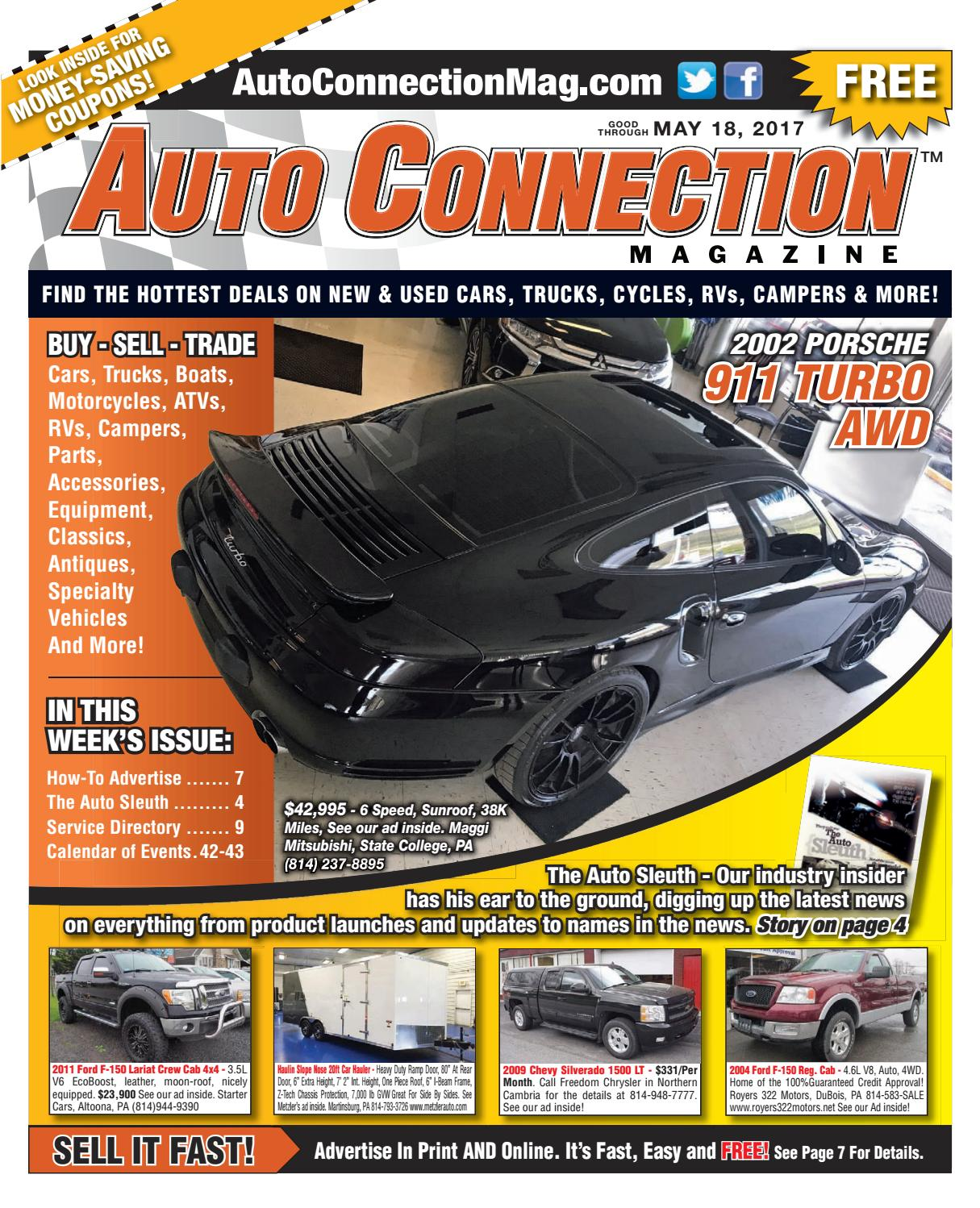 05-18-17 Auto Connection Magazine by Auto Connection Magazine - issuu