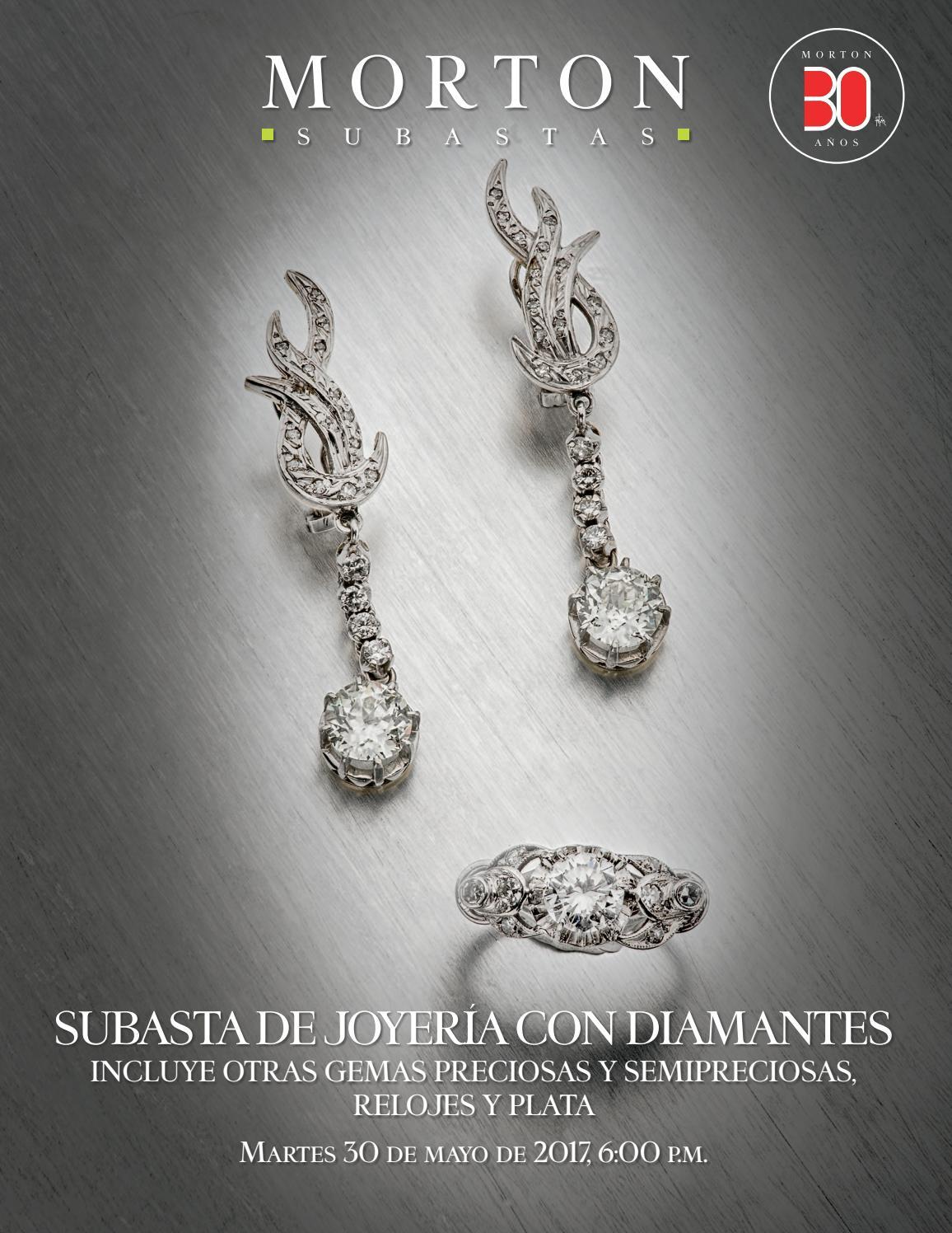 4307314b8180 Subasta de Joyería con Diamantes. Incluye otras gemas preciosas y  semipreciosas. Relojes y plata. by Morton Subastas - issuu