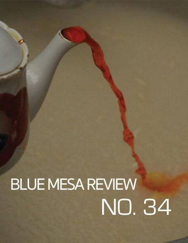 2b22bd0a97023 Blue Mesa Review Issue 34 by Blue Mesa Review - issuu