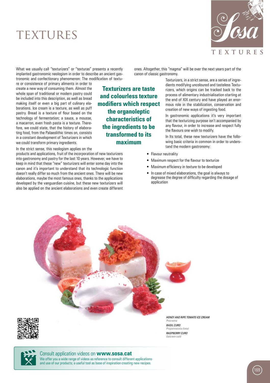 Sosa Ingredients Food Service 2017 (ENG) by Sosa Ingredients, SL - issuu