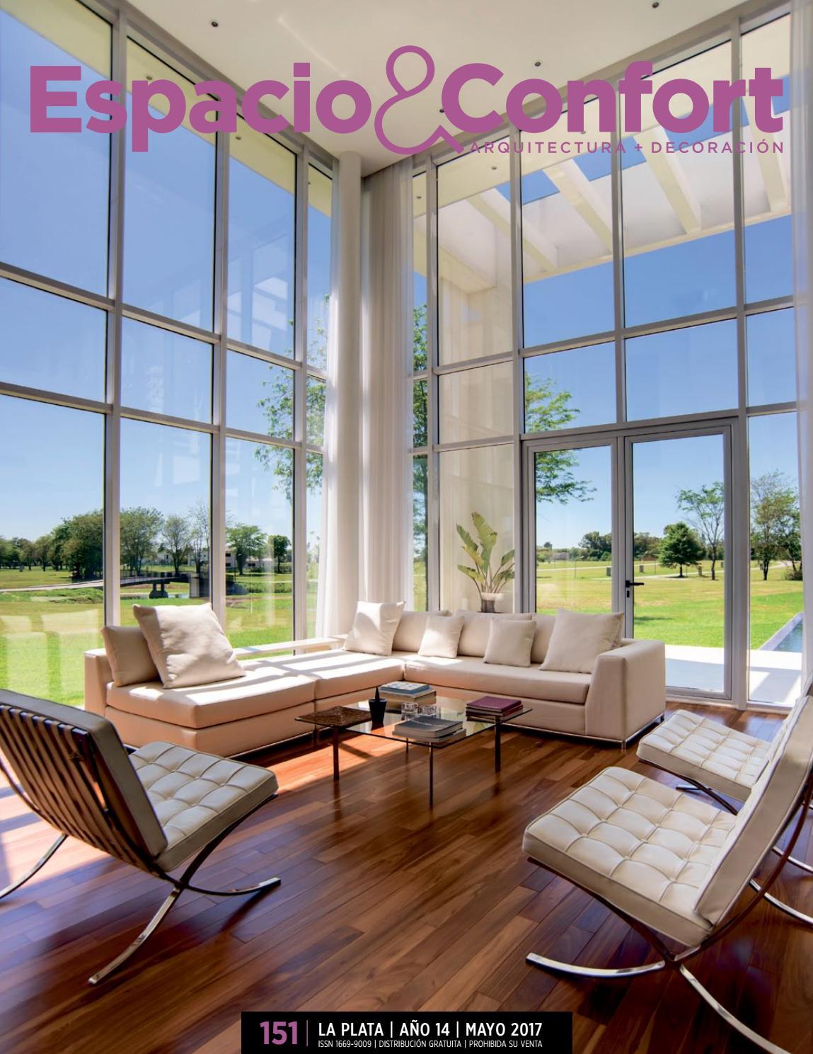 151 La Plata Mayo2017 By Revista Espacio Confort Arquitectura  # Muebles Luberto Mar Del Plata