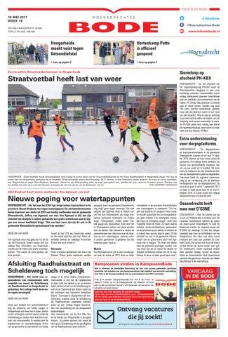 Woensdrechtse Bode 10 05 2017 by Uitgeverij de Bode issuu