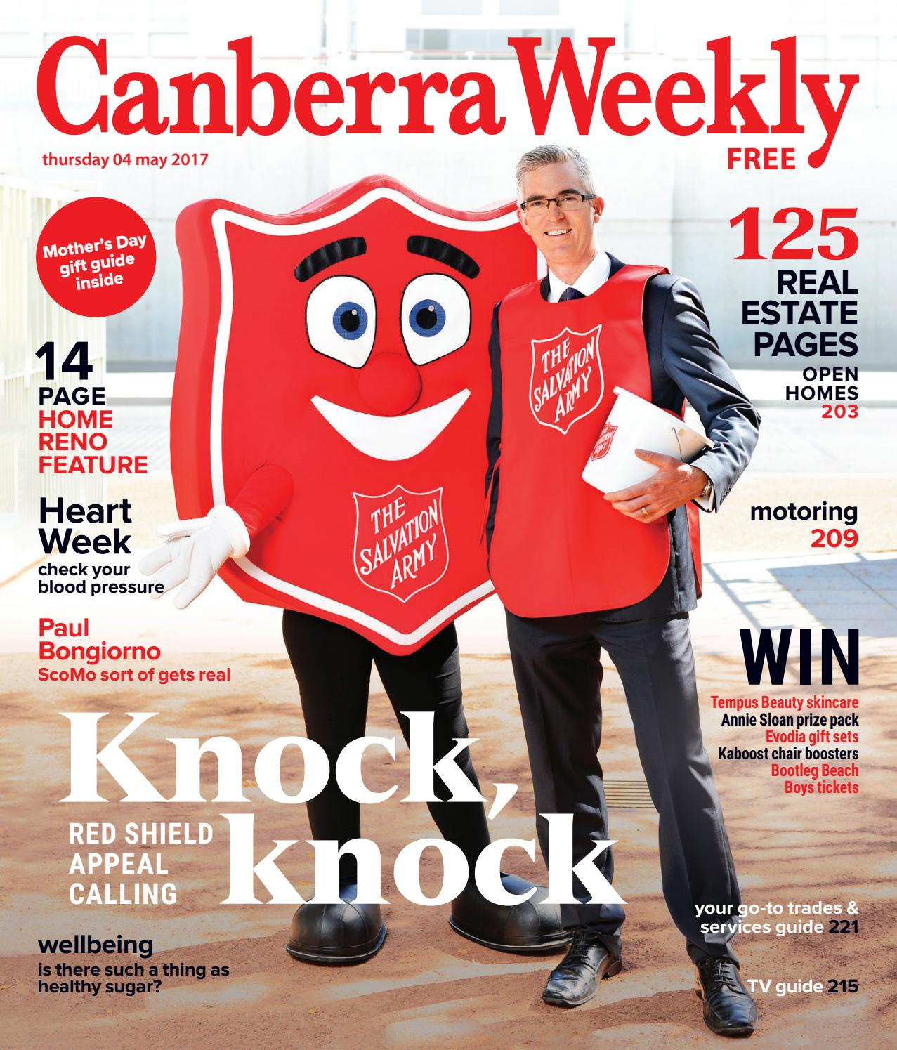 87bef3324d7 04 May 2017 by Canberra Weekly Magazine - issuu