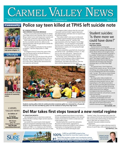3af95b44d05 Carmel Valley News 05 11 17 by MainStreet Media - issuu