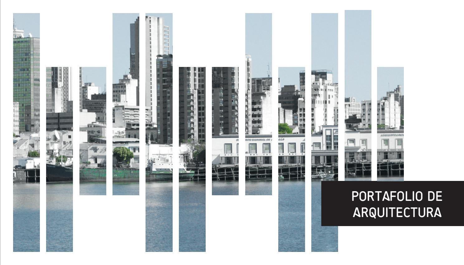 Portafolio arquitectura andres ramirez puj by andres for Portafolio arquitectura