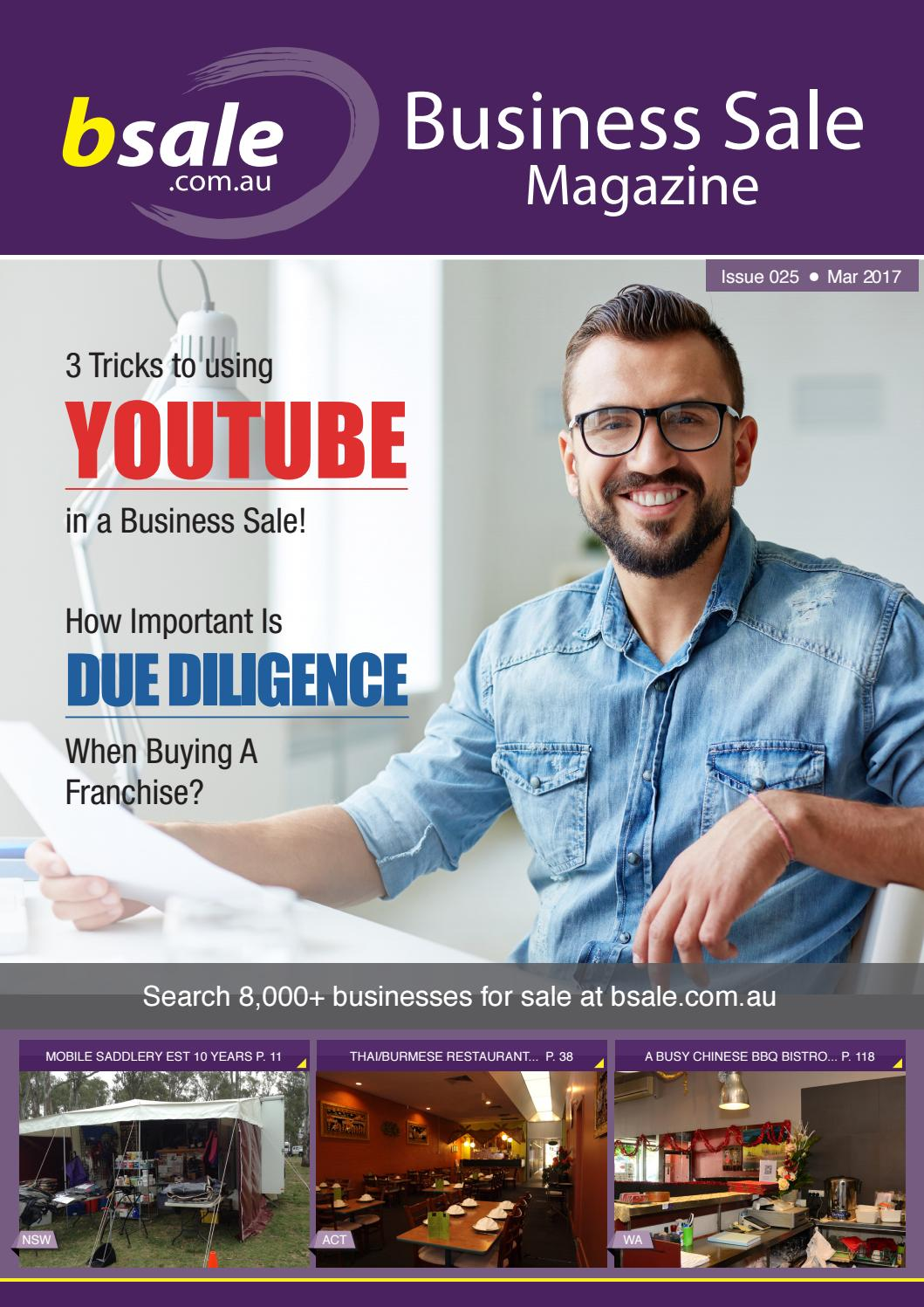 Business for Sale Magazine March 2017 by Bsale - issuu