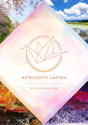 Aprm2017 japan invitation package by ifmsa japan issuu aprm2017 japan invitation package stopboris Image collections