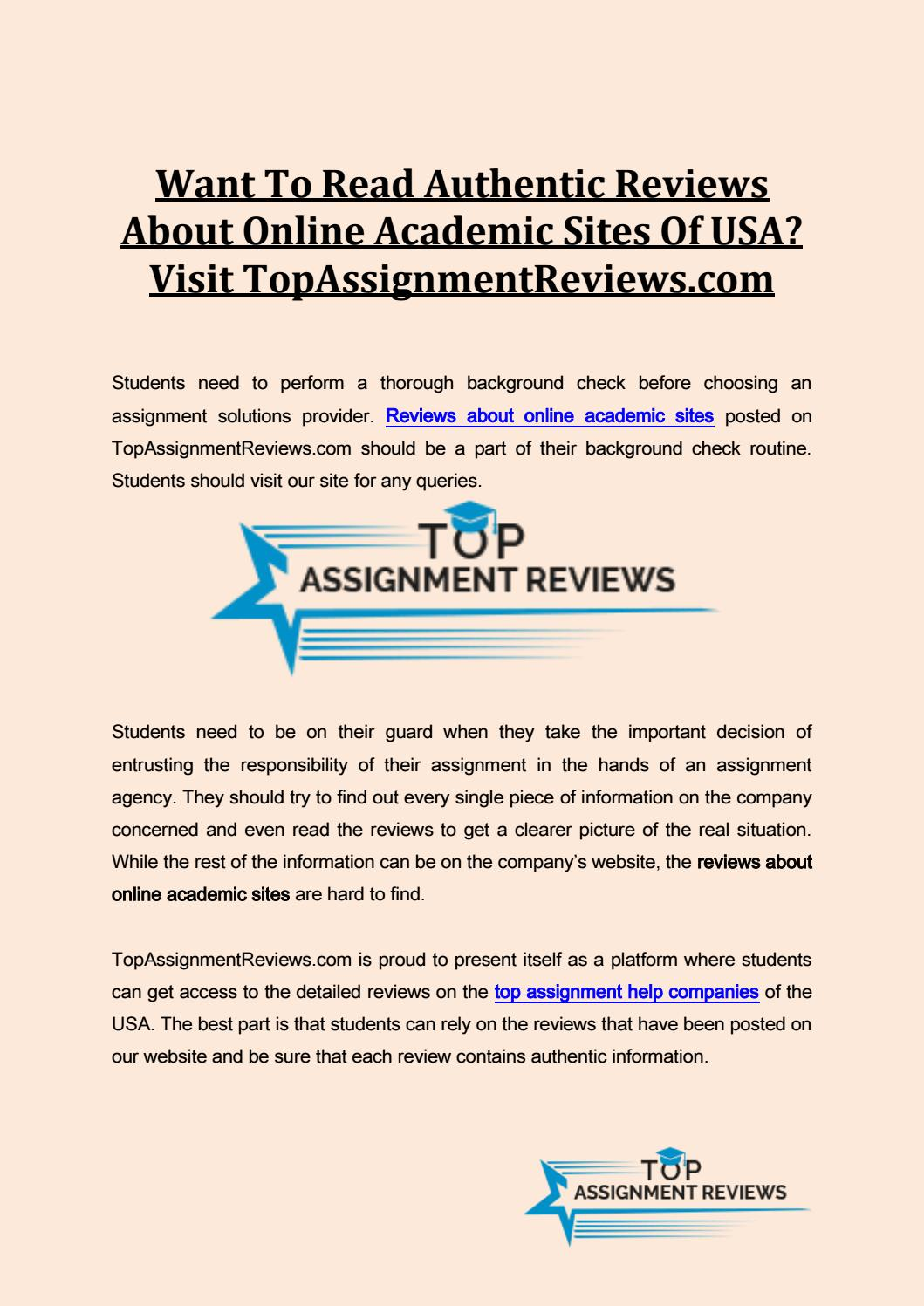 online reviews of term paper writers