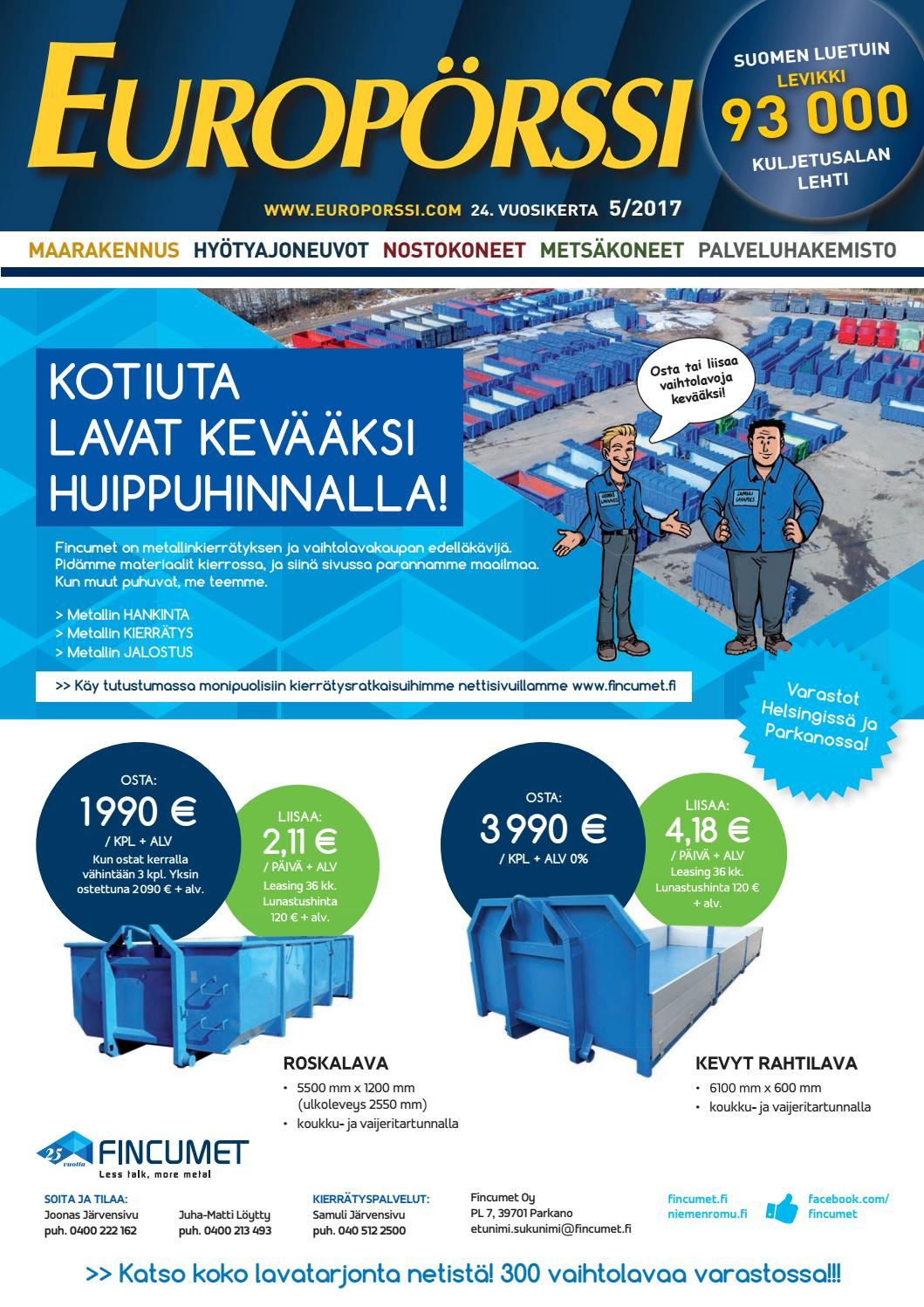 Europörssi 5 2017 by Europörssi - issuu a5c730d4e5