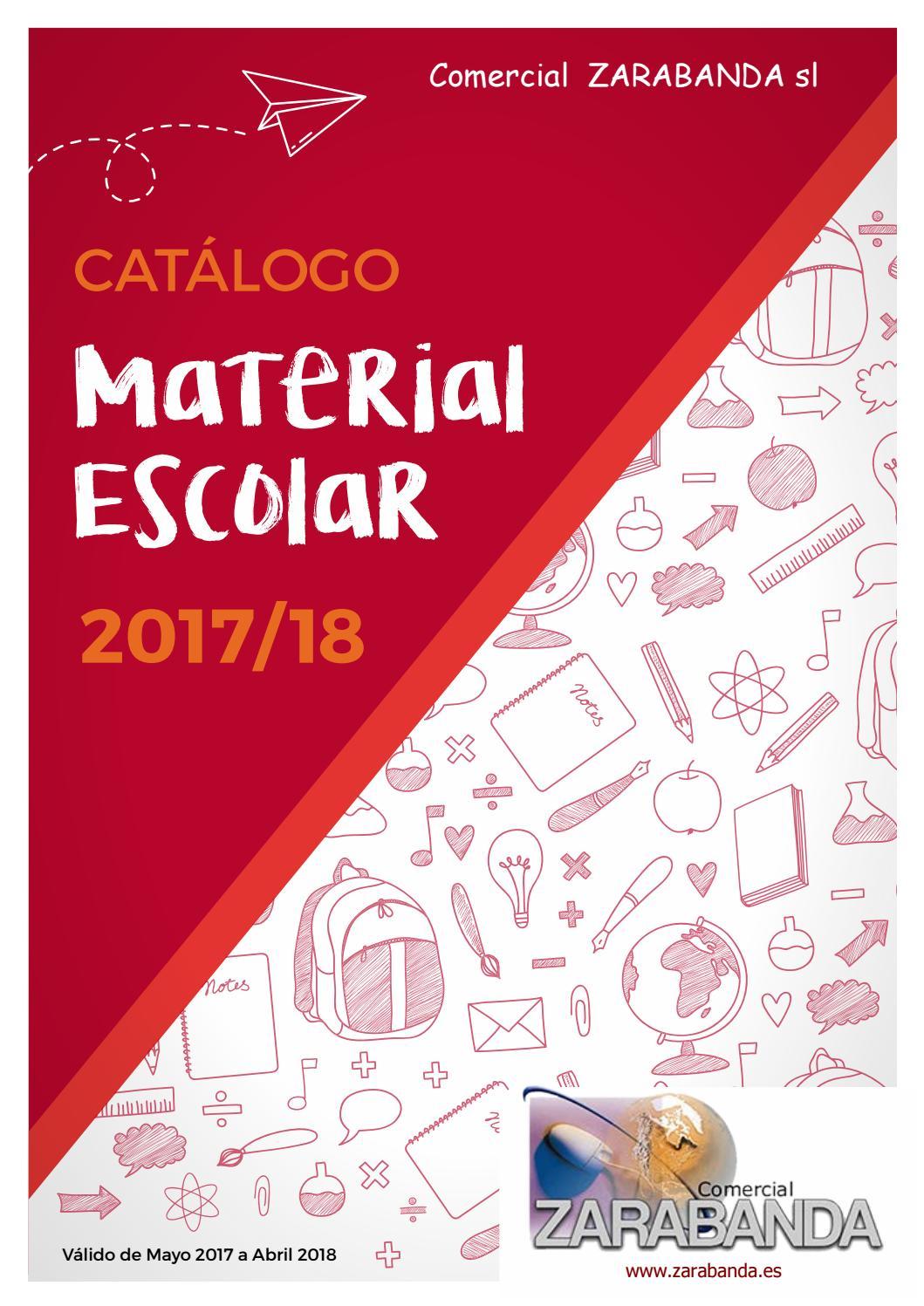 Catalogo colegios zarabanda by Comercial Zarabanda - issuu