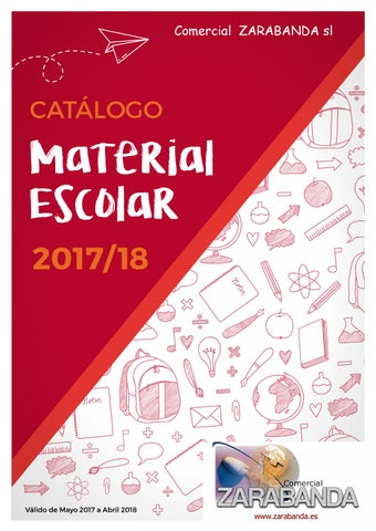 Catalogo colegios zarabanda by Comercial Zarabanda - issuu bae17641461cd