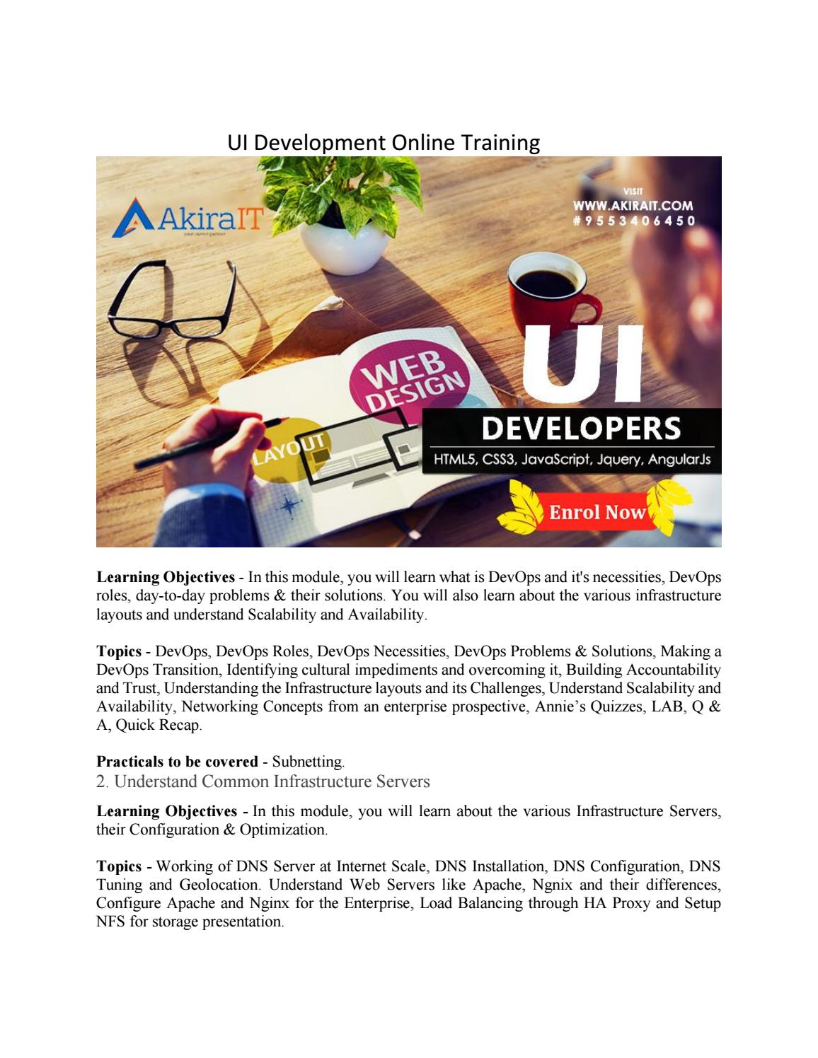 Ui development online training by akirait4 - issuu
