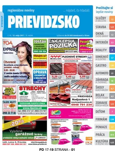 bcd564a23 Pd1719 by prievidzsko prievidzsko - issuu