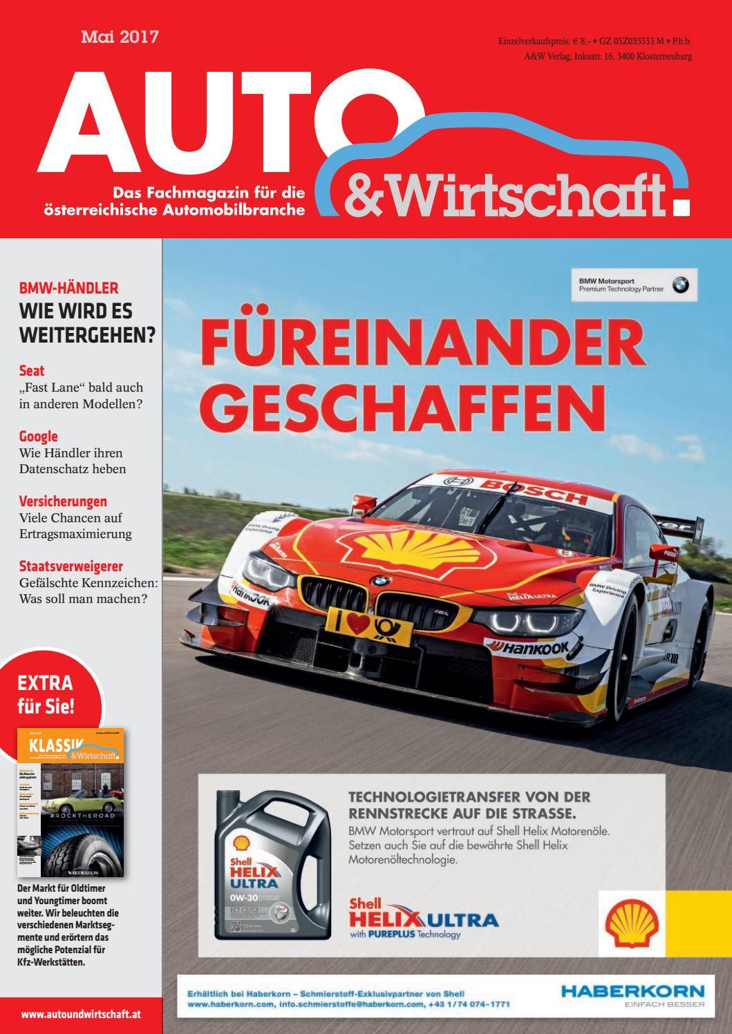 AUTO & Wirtschaft 05/17 by A&W Verlag GmbH - issuu