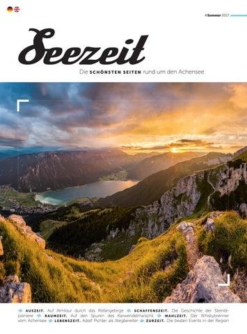 Magazin Seezeit Sommer 2017 By Achensee Tourismus