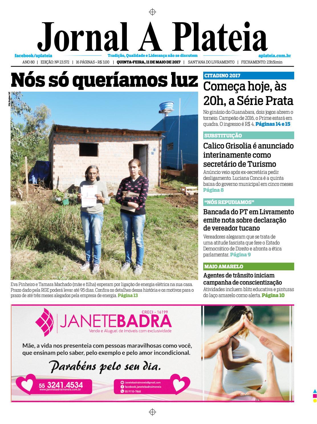 20170511 by Jornal A Plateia Livramento - issuu deff6ed599