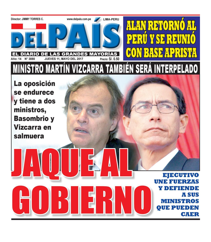 Edicion Impresa 11 de Mayo del 2017 by Diario Del Pais - El Diario ...