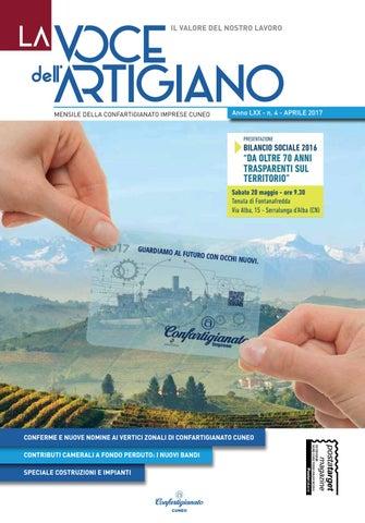 01f0f6c5983d La Voce dell'Artigiano - Aprile 2017 by Confartigianato Cuneo - issuu