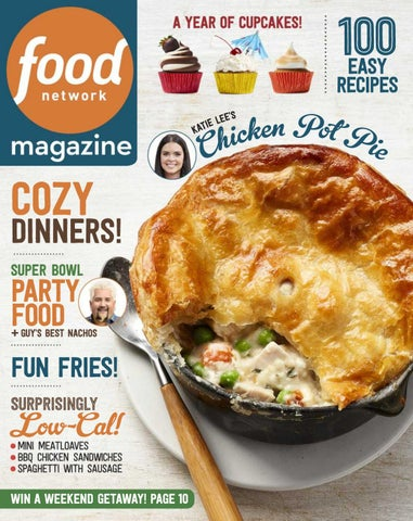 Food network magazine januaryfebruary 2017 by susan price issuu 100 easy recipes ees l e i kat forumfinder Choice Image