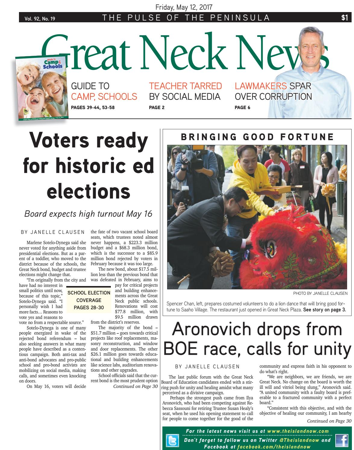 Great neck news 05 12 17 by The Island Now - issuu d35e6653b34a9