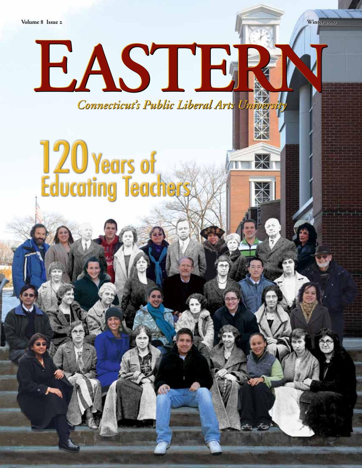 Eastern Magazine Winter 2010 By Easternctstateuniversity Issuu Manzone Mens Top Gifford Blue