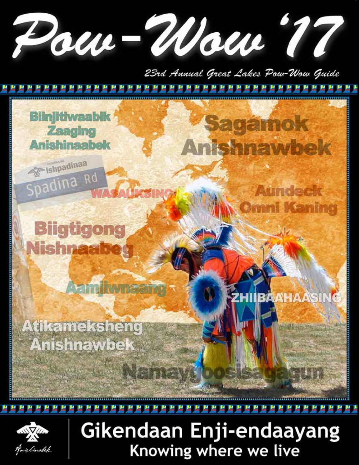 2017 Great Lakes Pow Wow Guide By Anishinabek Nation Issuu