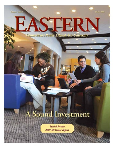 Eastern Magazine Winter 2009 By Easternctstateuniversity Issuu